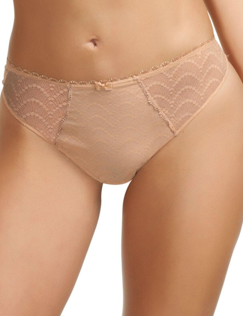 2947 Fantasie Echo Lace Brazilian  - 2947 Thong Nude