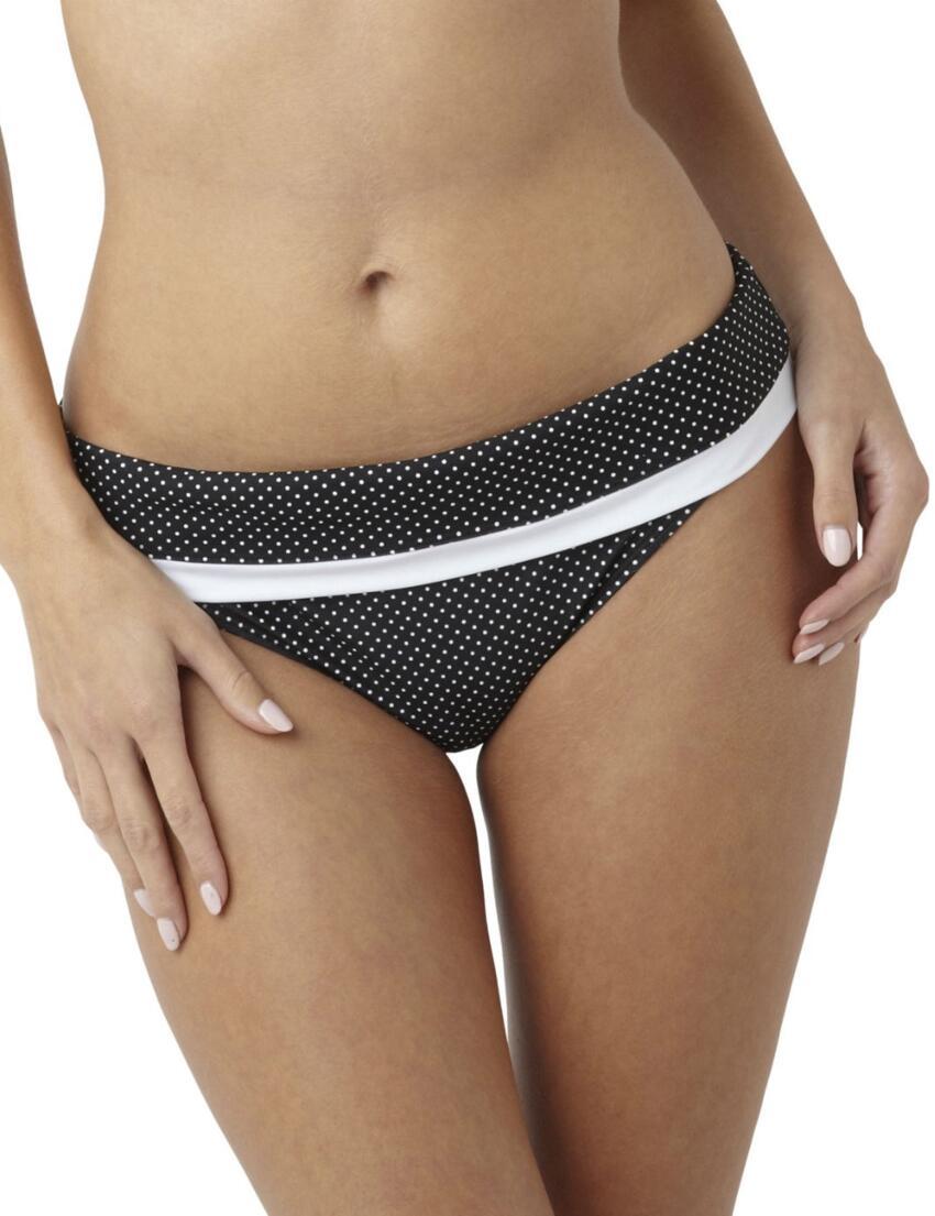 SW0827 Panache Britt Fold Bikini Brief - SW0827 Fold Black
