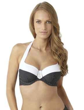 SW0822 Panache Britt Halterneck Bikini Top - SW0822 Black