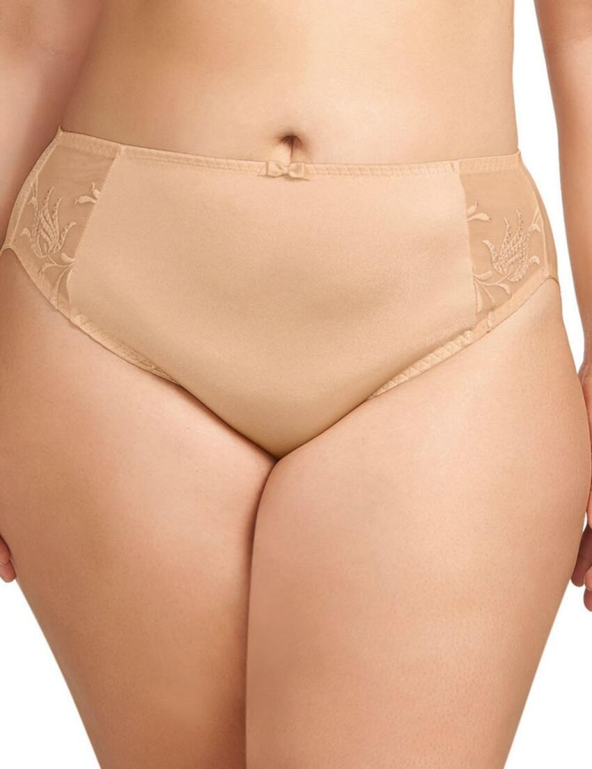 8035 Elomi Caitlyn High Rise Brief  - 8035 Nude