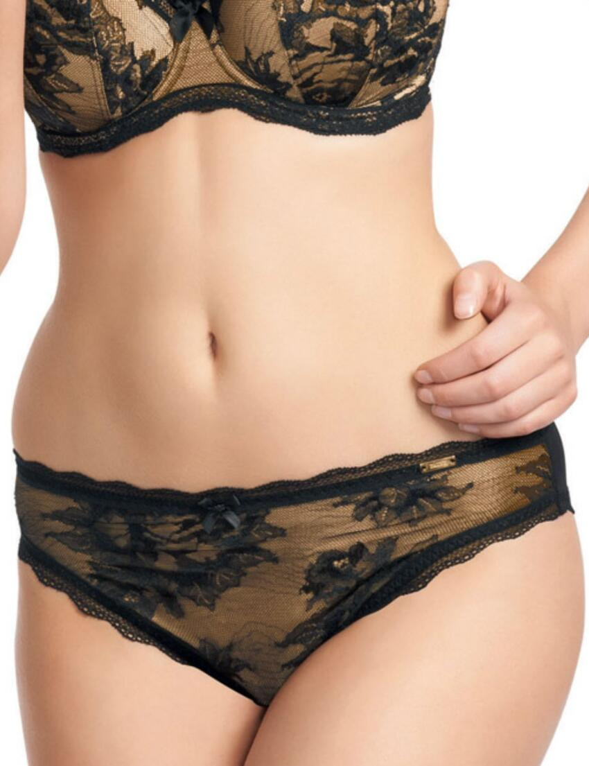 0265 Fauve Evangeline Brief  - 0265 Black