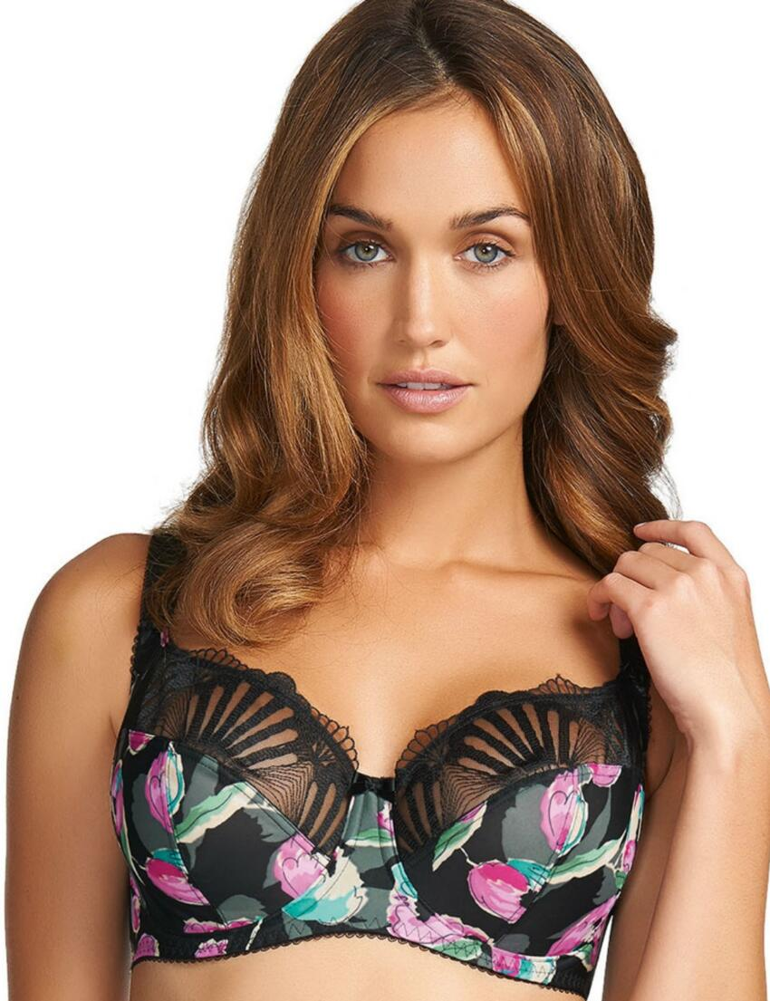 2952 Fantasie Abigail Side Support Bra Black  - 2952 Black