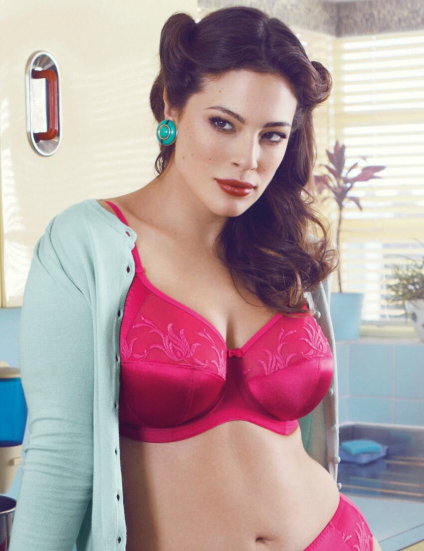 8030 Elomi Caitlyn Side Support Bra Raspberry - 8030 Raspberry