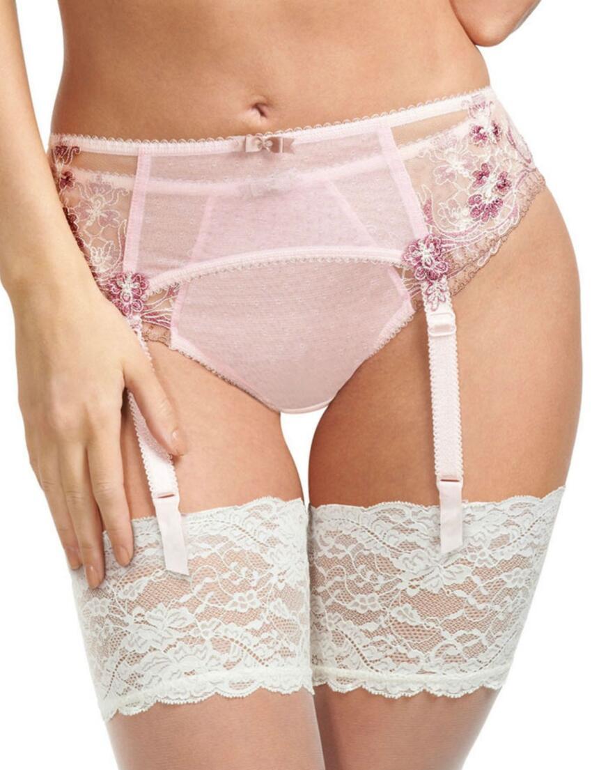 2938 Fantasie Melissa Suspender Belt Soft Pink - 2938 Suspender
