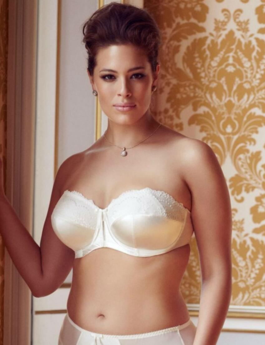 8500 Elomi Maria Strapless Bra - 8500 Cream