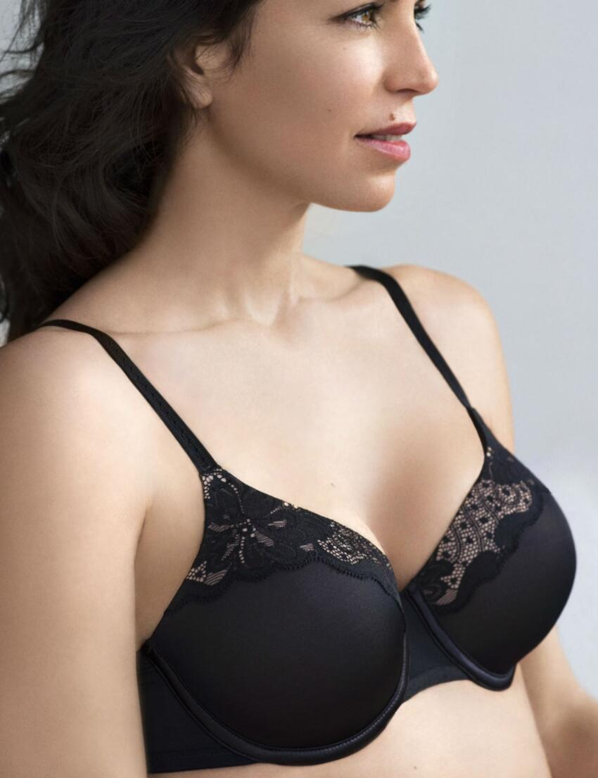 P00H7 Playtex Contour Perfection Moulded Bra Black  - P00H7 Bra