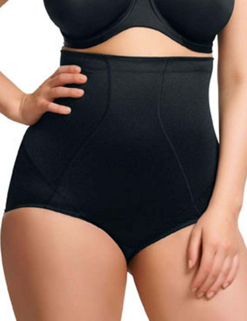 8116 Elomi Curve Shaper Brief  - 8116 Black