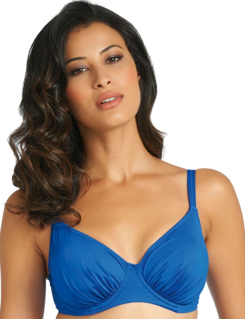 5749 Fantasie Versailles Full Cup Gathered Bikini Top - 5749 Windsor Blue