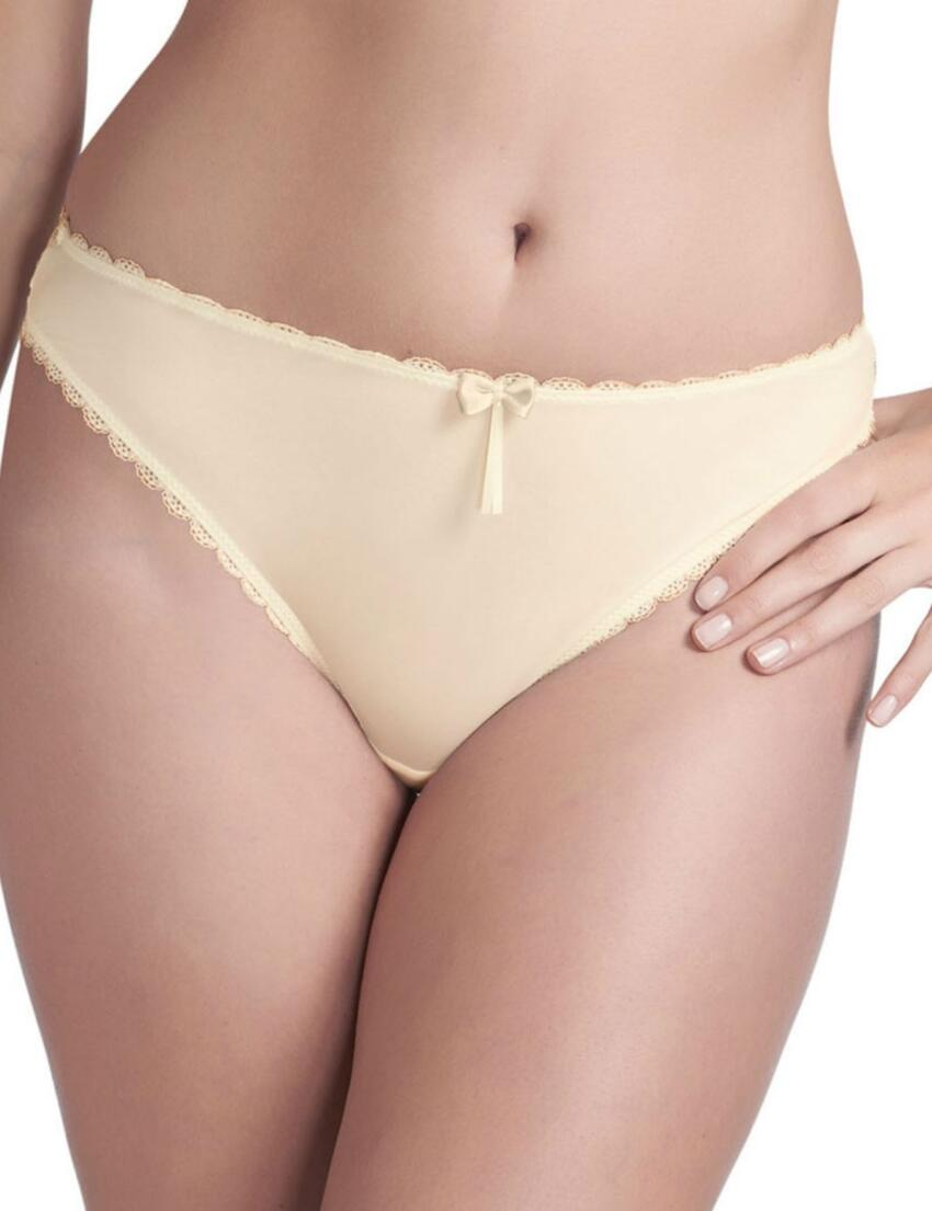 0345 Fauve Lilia Brazilian Brief Champagne - 0345 Brazilian Brief