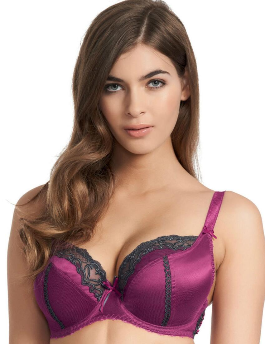 0242 Fauve Veronique Balcony Bra Azalea Purple - 0242 Balcony Bra