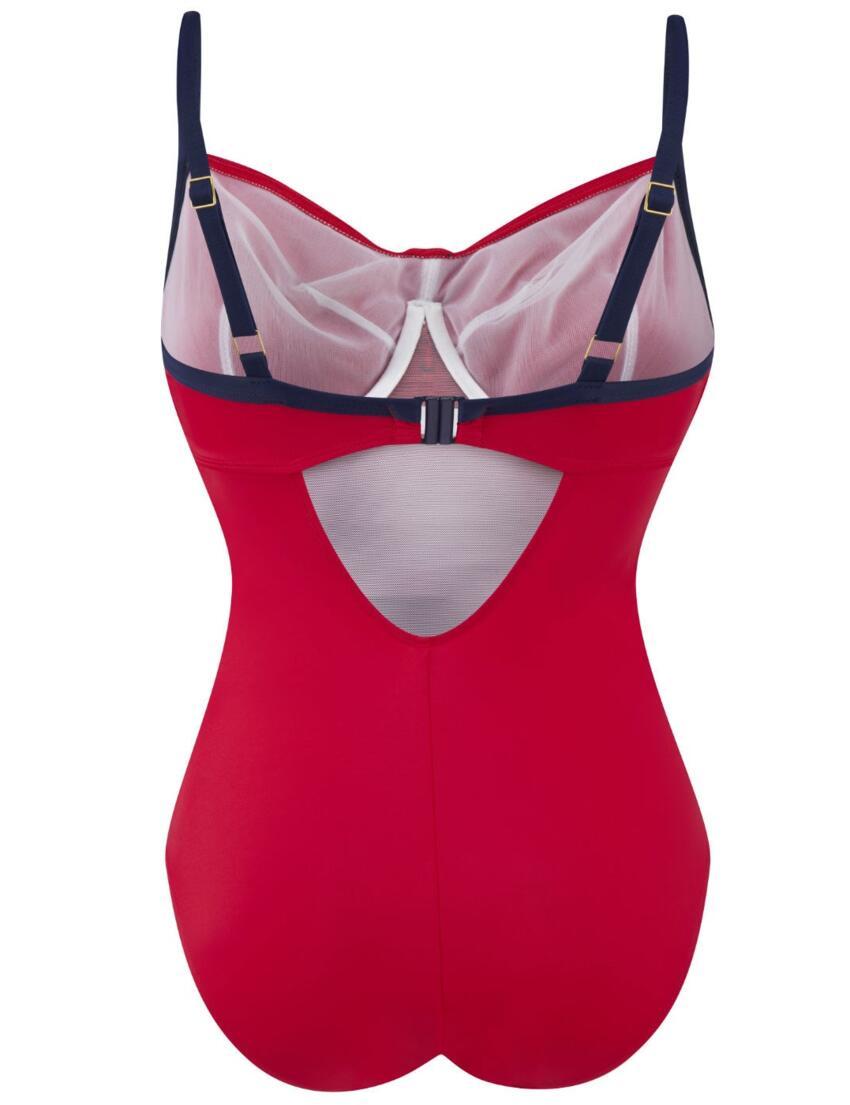 SW0640 Panache Veronica Swimsuit - SW0640 Red/Navy