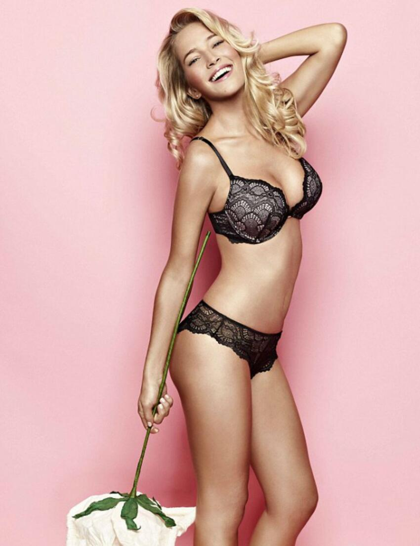 0310 Ultimo The One Lace Bra  - 0310 Black/Pink