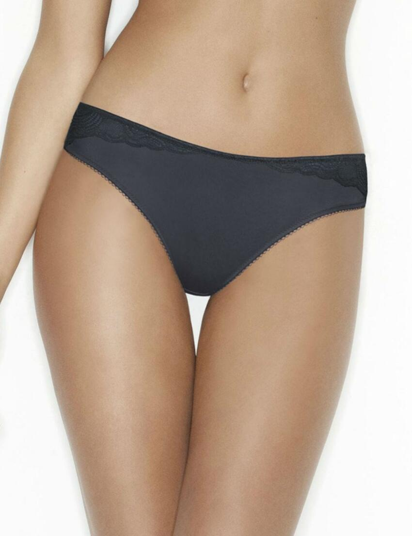 W01VK Wonderbra Glamour Line Brazilian Brief Grey - W01VK Brazilian Brief