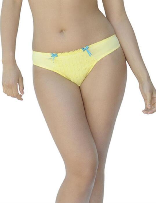 2302 Curvy Kate Dreamcatcher Thong Lemon Fizz - 2302 Thong