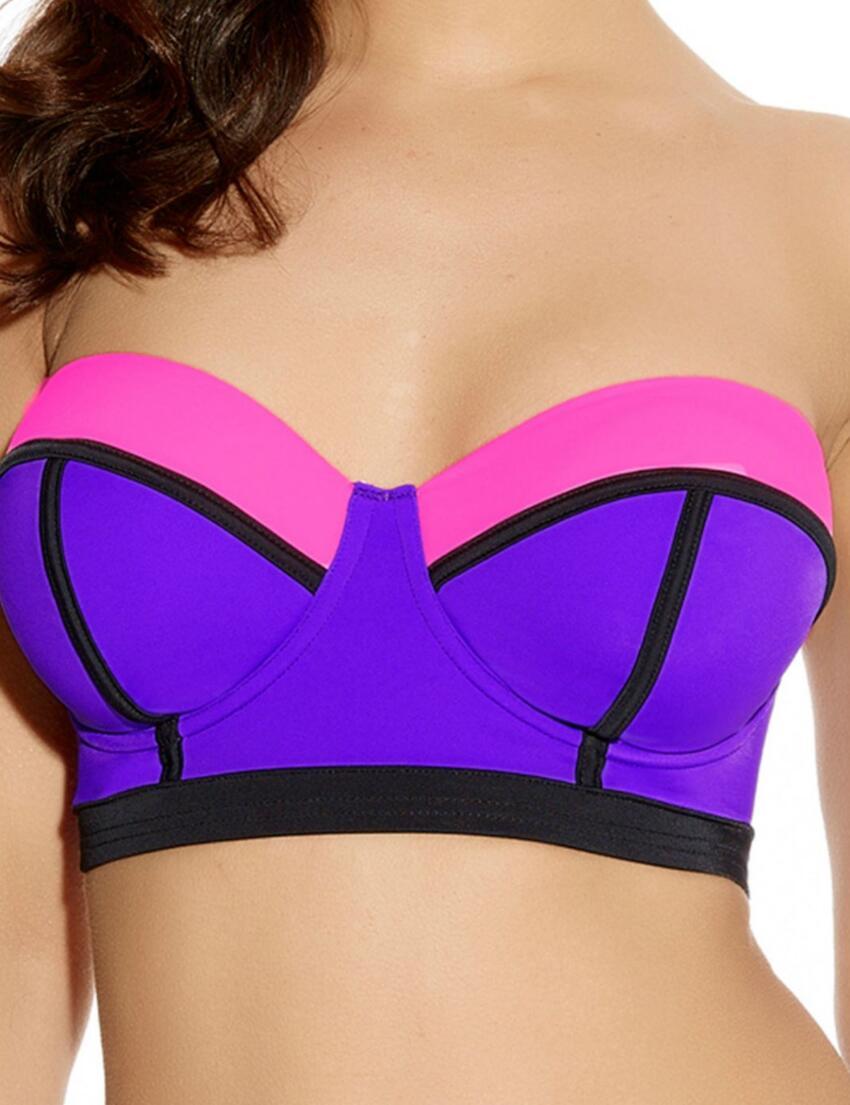 3241 Freya Bondi Bandeau Longline Bikini Top Vibe - 3241 Bandeau Top