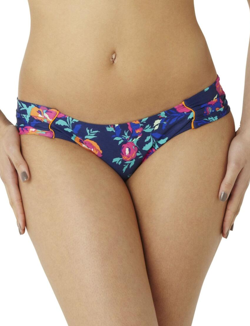 CW0156 Cleo Cassie Ruched Bikini Pant Floral Print - CW0156 Ruch Pant