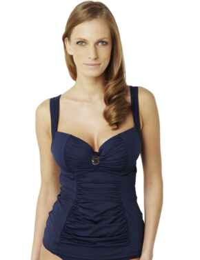 SW0841 Panache Annalise Moulded Tankini Top - SW0841 Navy