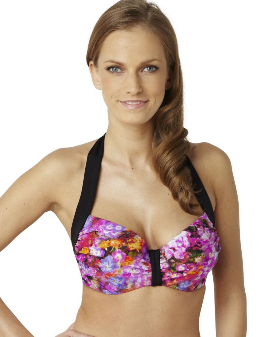 SW0782 Panache Savannah Moulded Bikini Top Floral Print - SW0782 Bikini Top