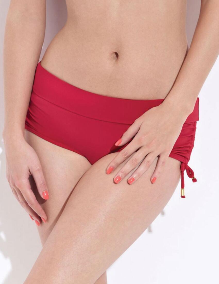 1227710 Lepel Capri Bikini Short Red - 1227710 Bikini Short