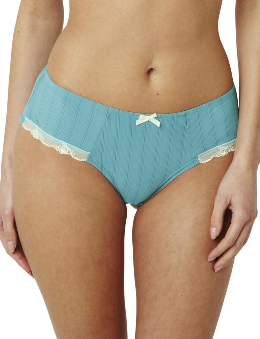 6073 Panache Porcelain Viva Brief  - 6073 Duck Egg Blue