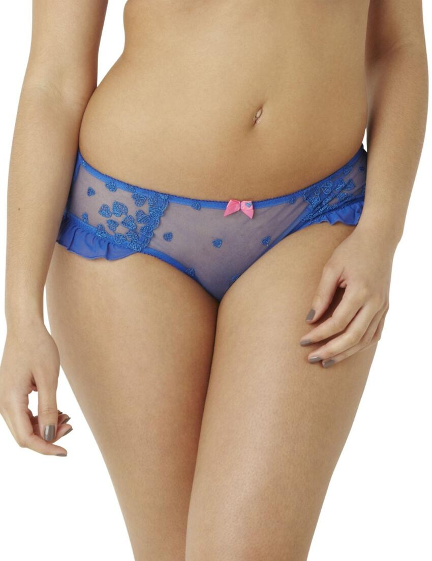 7562 Cleo by Panache Kali Brief Cobalt  - 7562 Brief
