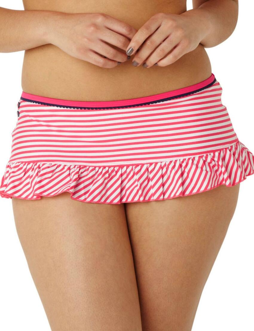 SW0197 Cleo Lucille Skirt Pant Coral - CW0197 Bikini Skirt