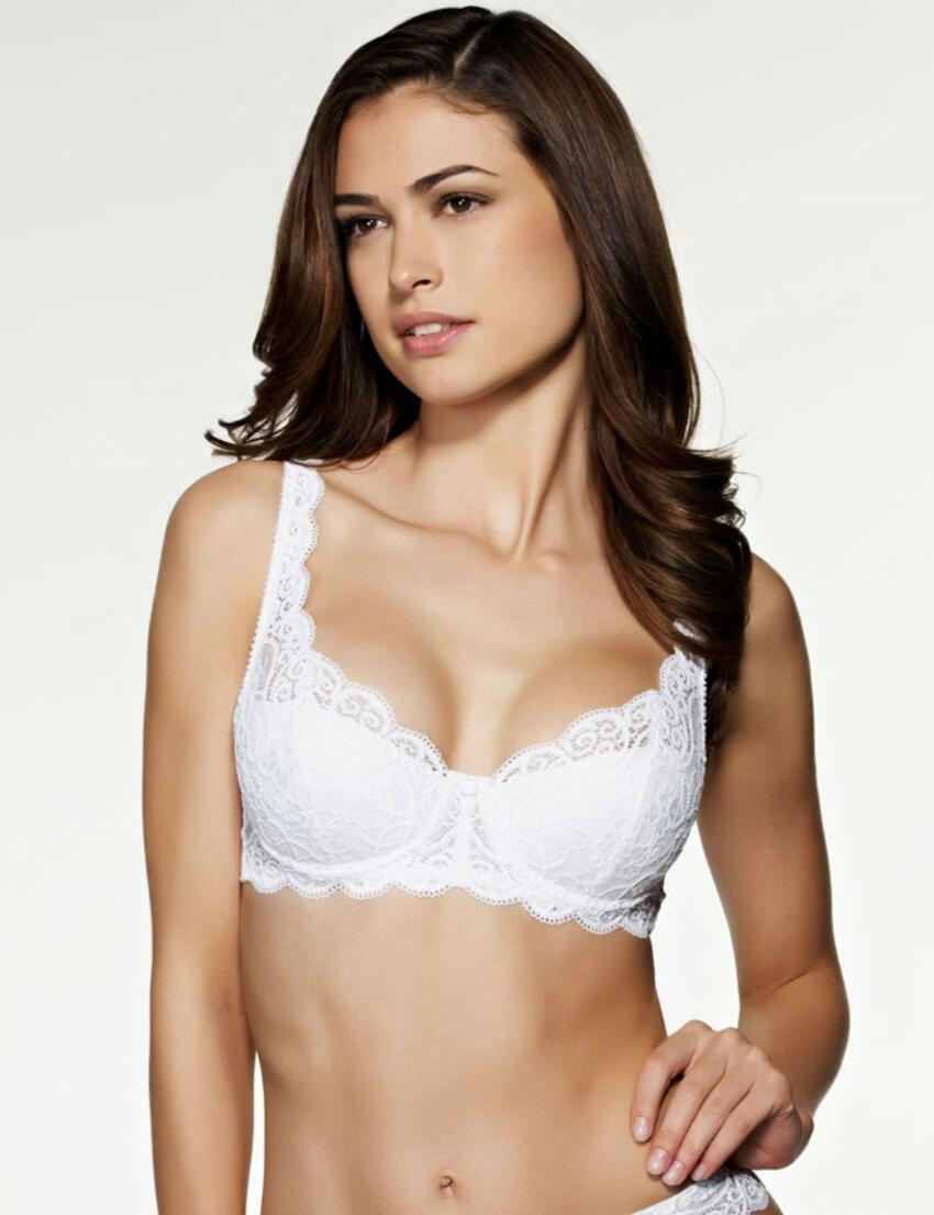 Triumph Amourette Charm WHP Undewired Half Cup Padded Bra 10180512 Rosso Masai