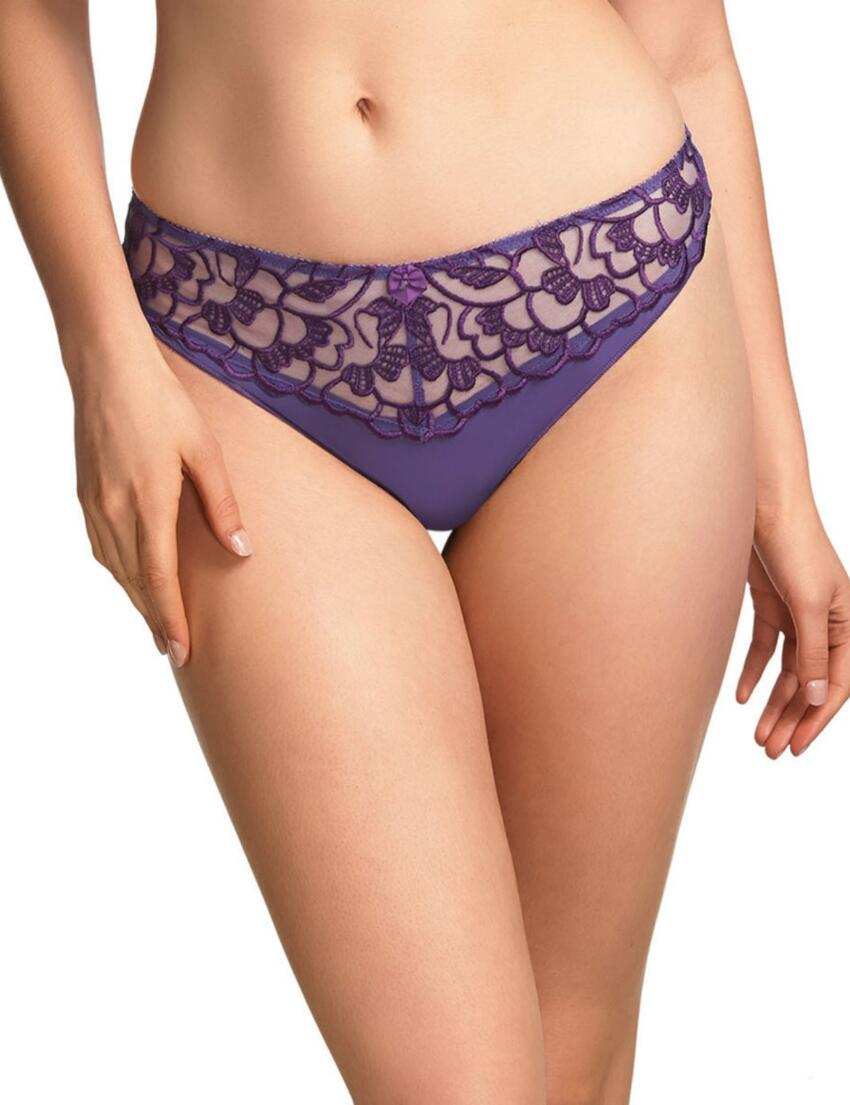 0317 Fauve Chloe Thong FREE UK POSTAGE - 0317 Purple