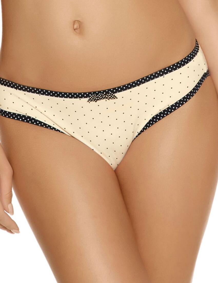 1555 Freya Deco Spotlight Brief Ivory - 1555 Brief