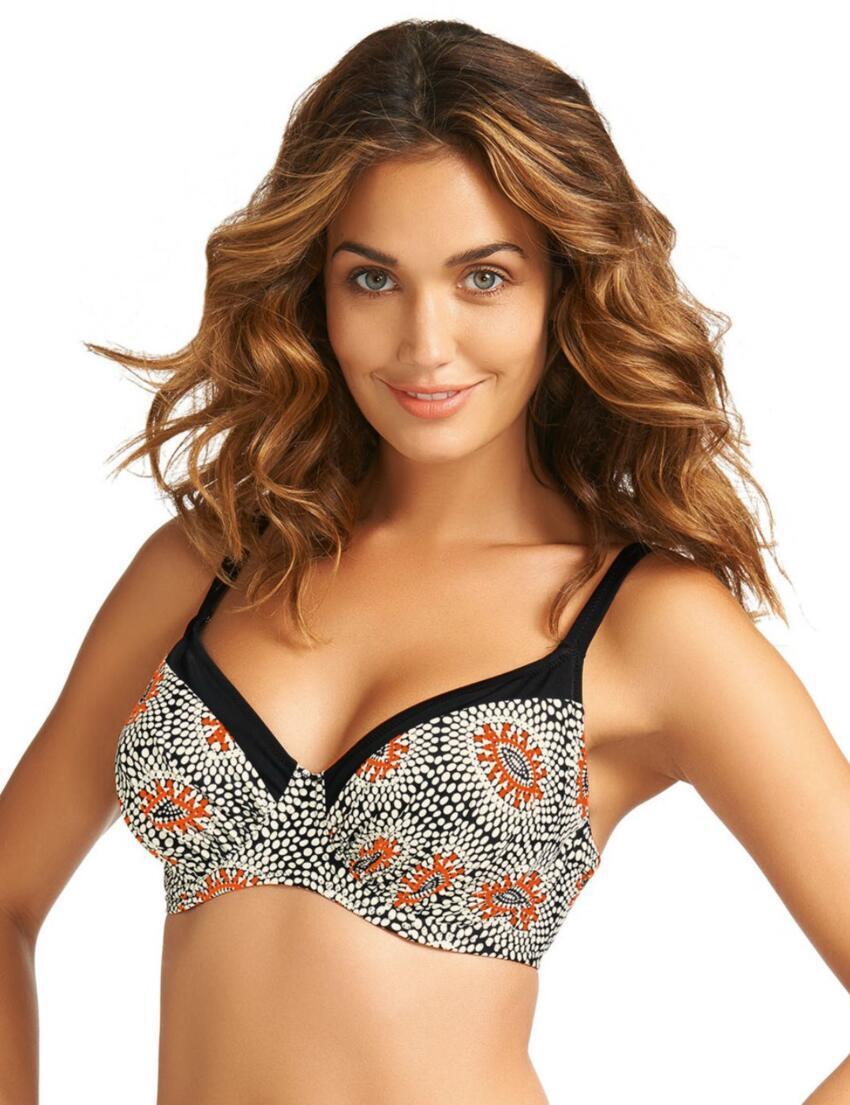 5046 Fantasie Tangier Gathered Full Cup Bikini Top - 5046 Bikini Top