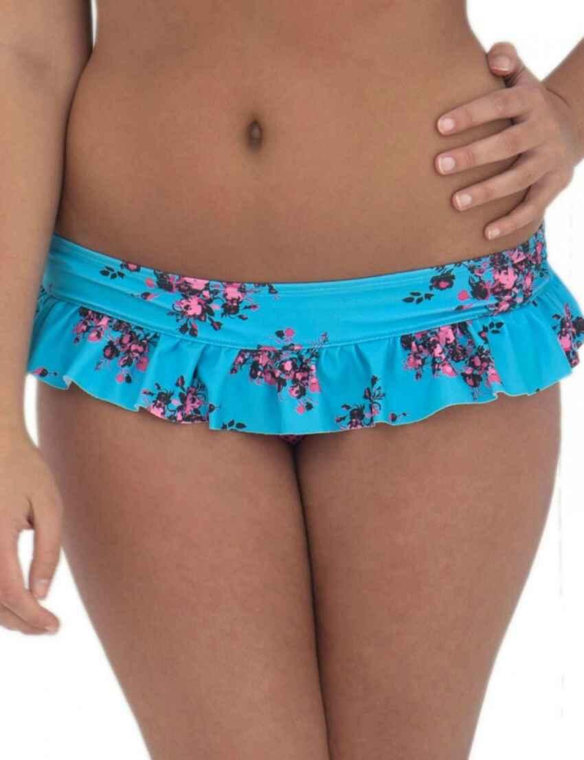 cbb4f3a2960ee Outlet · CS2135 Curvy Kate Beach Bloom Skirted Brief Topaz Floral - CS2135  Skirted Brief