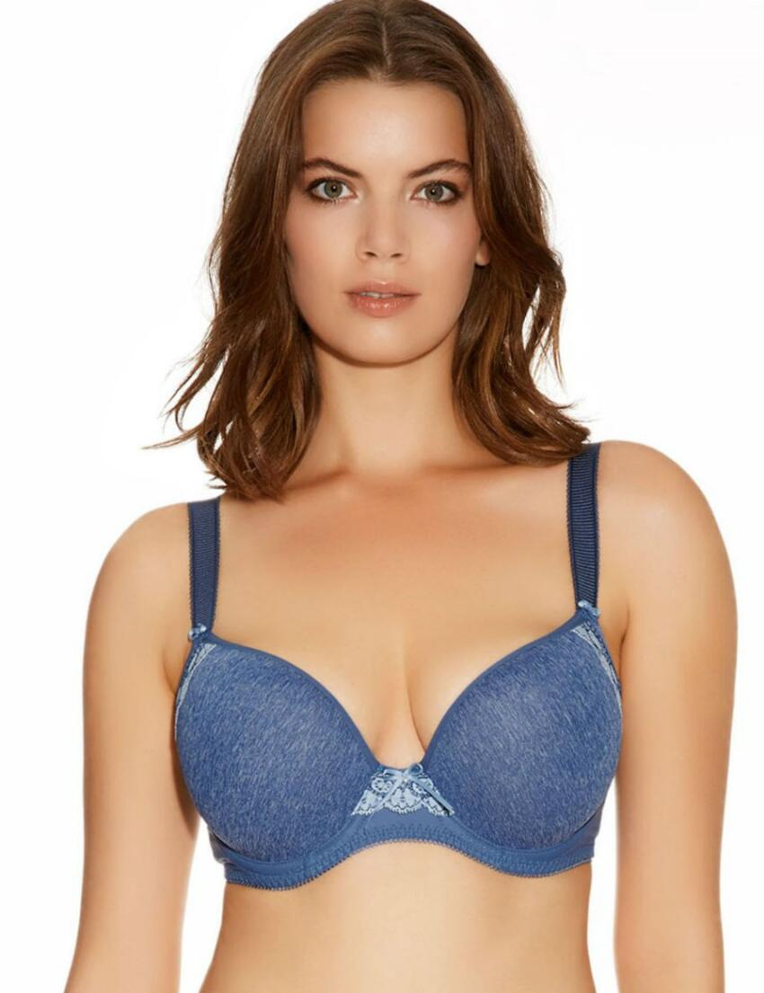 1561 Freya Deco Delight Plunge Bra - 1561 Denim