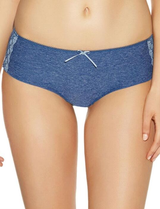 1566 Freya Deco Delight Short  - 1566 Denim