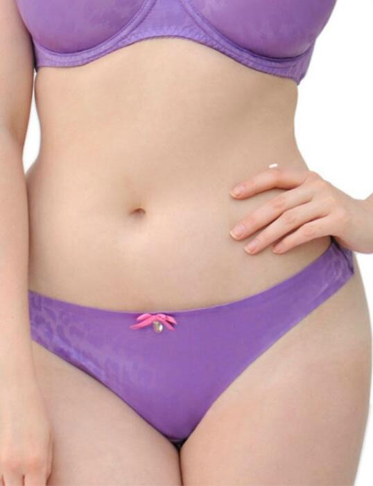2402 Curvy Kate Smoothie Thong Violet - 2402 Thong