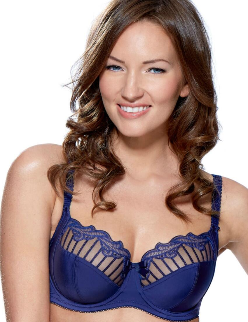 1295010 Charnos Sienna Full Cup Side Support Bra - 1295010 Ink Blue