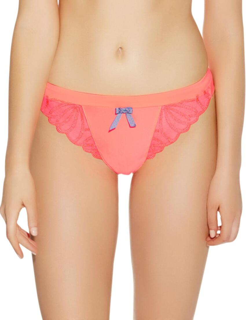 1067 Freya Starlet Thong Electric Blue - 1067 Neon Pink