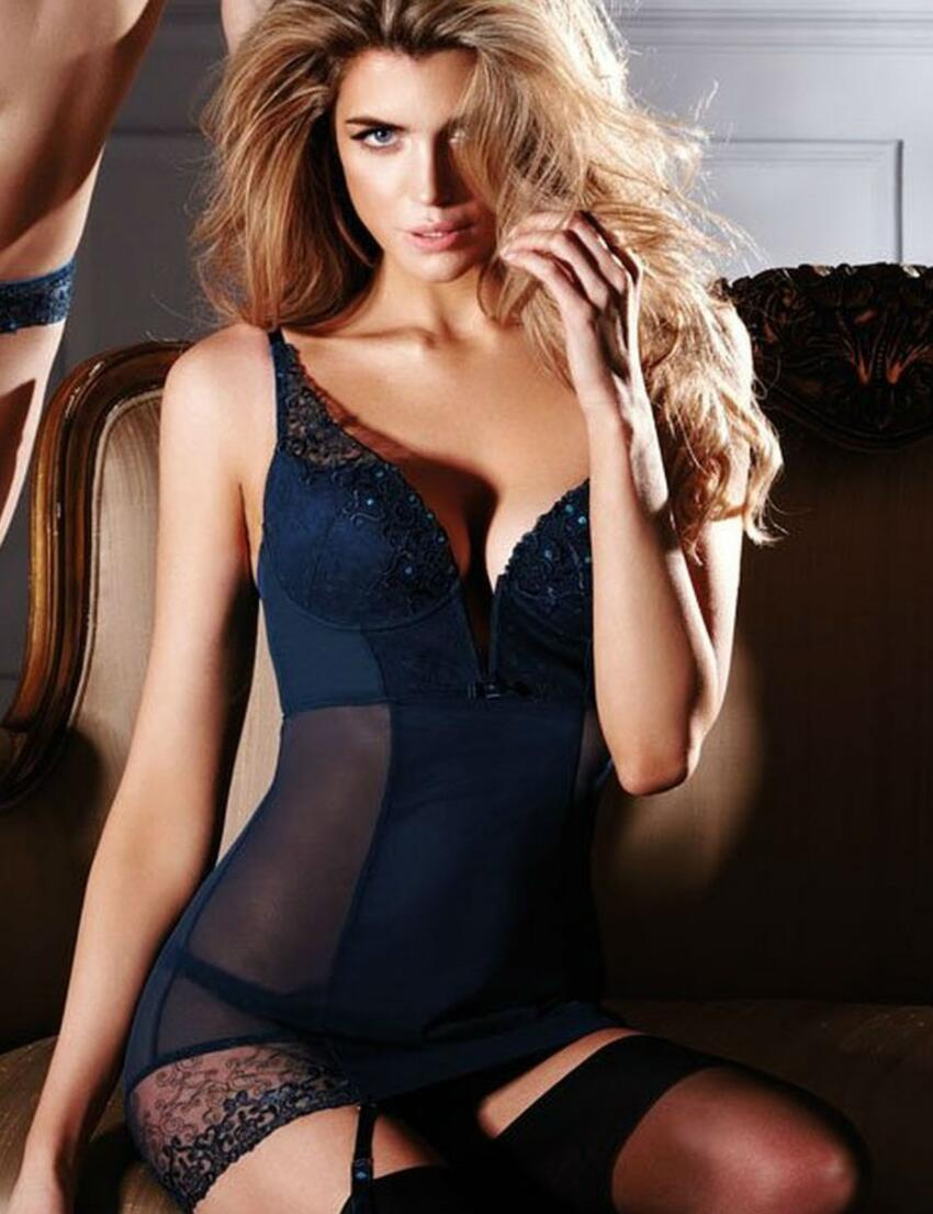 5257 Gossard VIP Rochelle Slip Dress - 5257Slip Dress