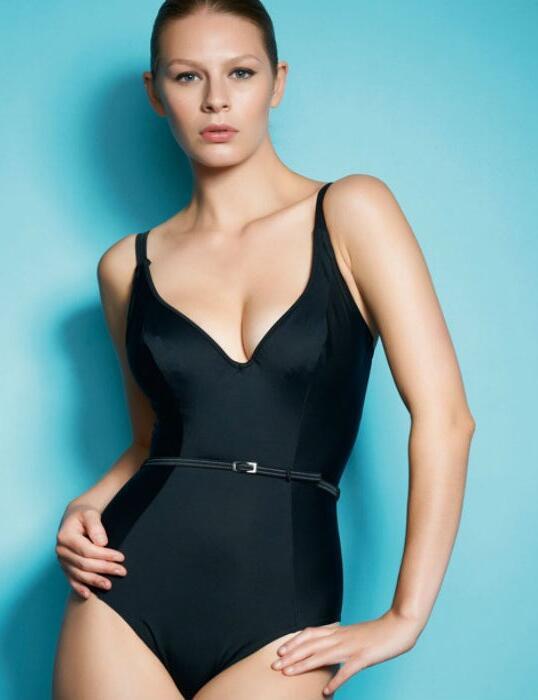 3332 Freya Fever Plunge Swimsuit Black - 3332 Black Swimsuit