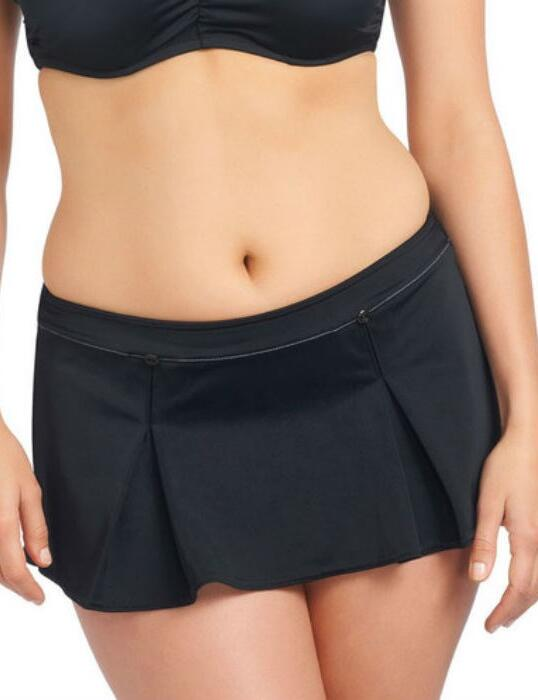 3337 Freya Fever Skirted Bikini Brief Black - 3337 Skirted Brief