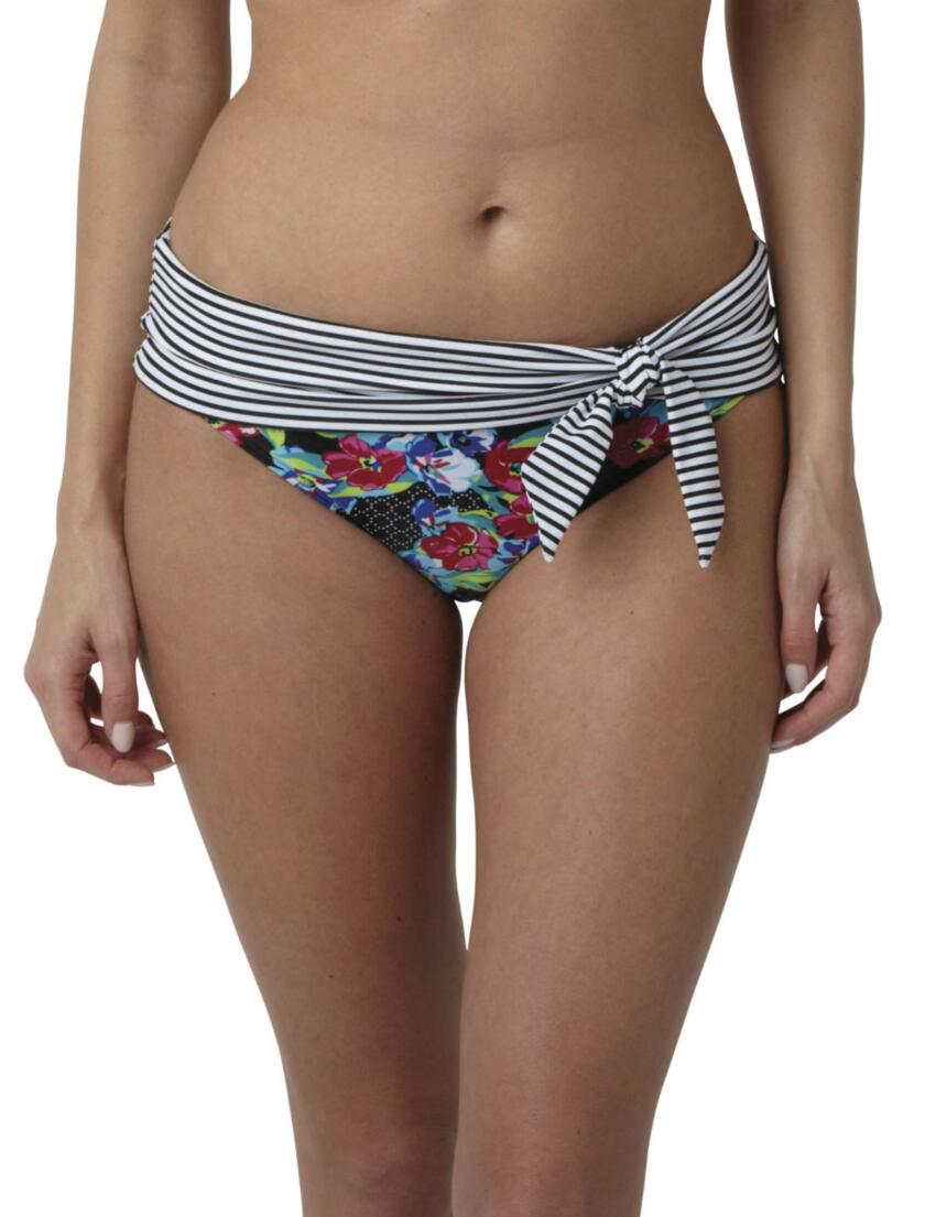 SW0877 Panache Elle Fold Pant Floral Print - SW0877 Fold Pant