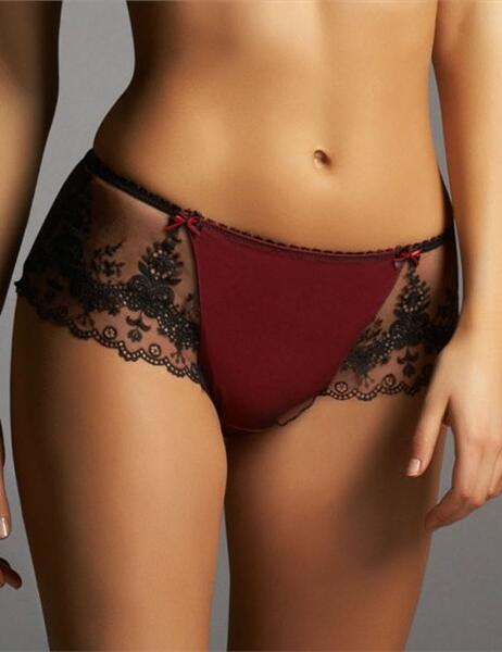 0116 Fauve Lingerie Celine Short FREE UK POST - 0116 Crimson