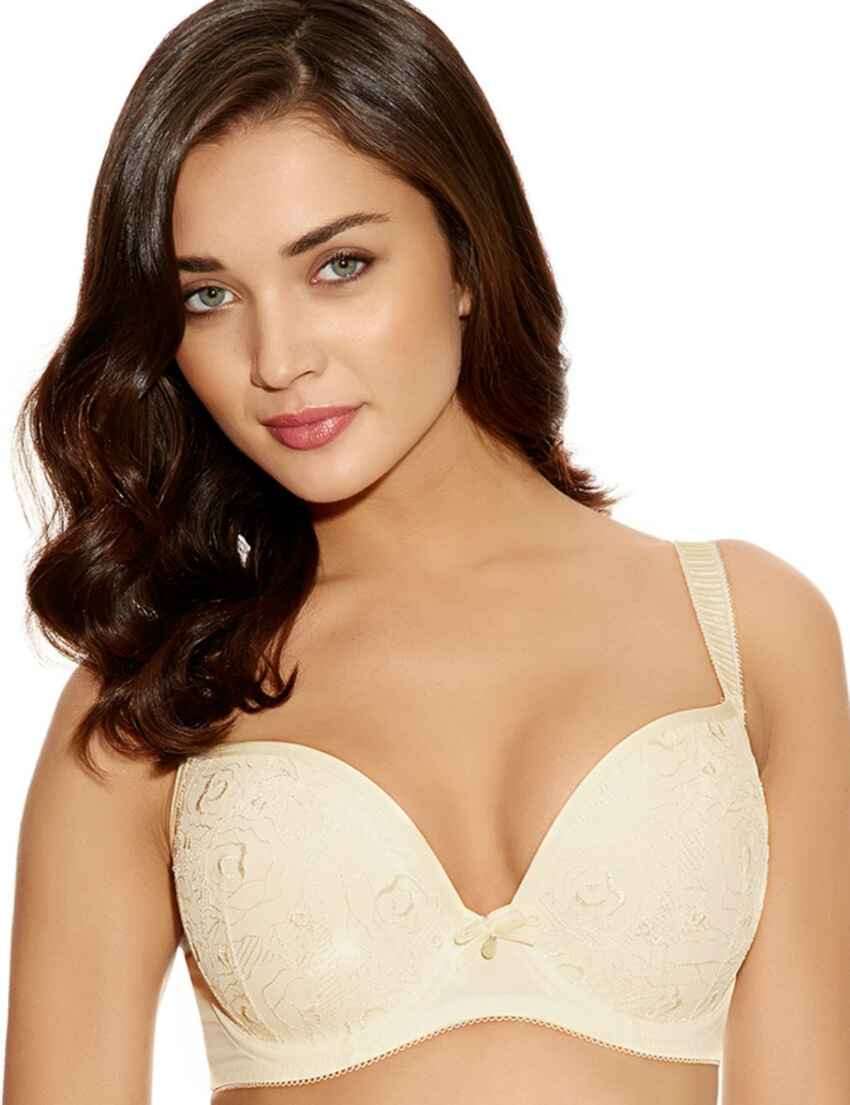 bf85369007e50e Save · 1774 Freya Deco Darling Moulded Plunge Bra - 1774 Ivory