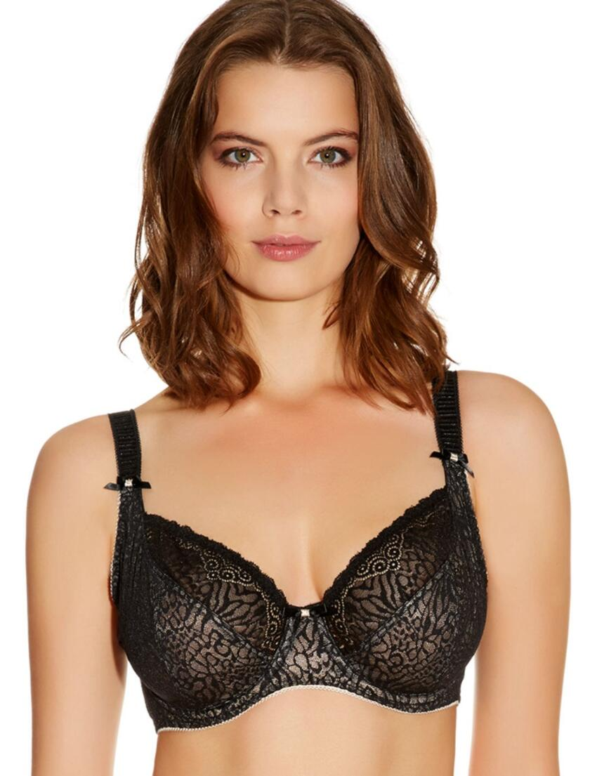 1661 Freya Icon Balcony Bra Black - 1661 Balcony Bra