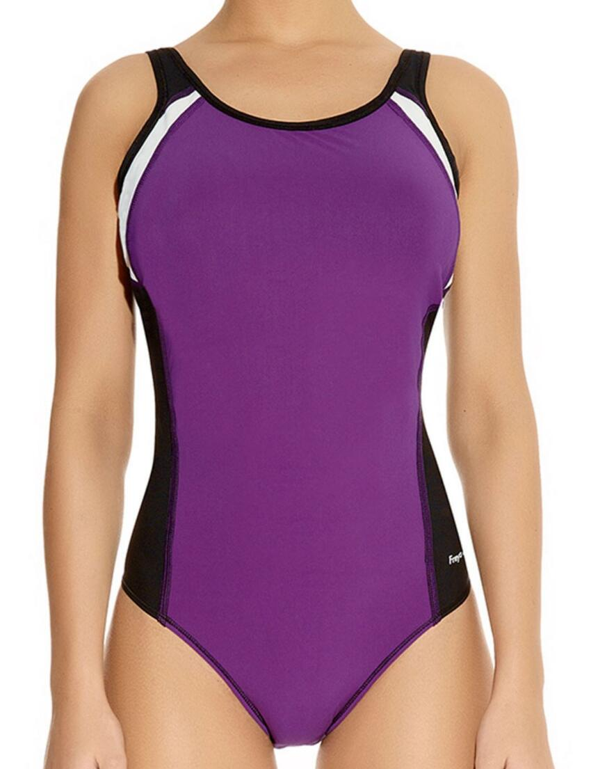 3991 Freya Active Swim Moulded Swimsuit Purple Rain  - 3991  Swimsuit