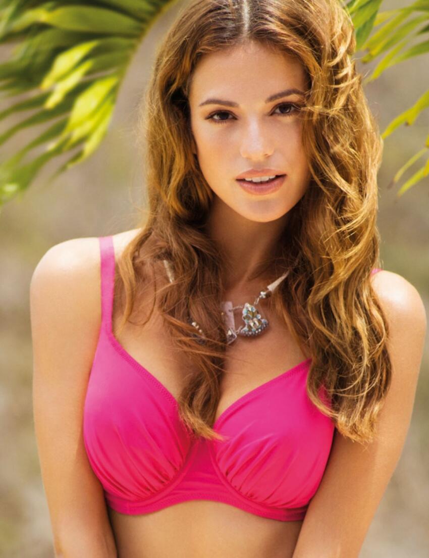 5749 Fantasie Versailles Full Cup Gathered Bikini Top - 5749 Bright Pink
