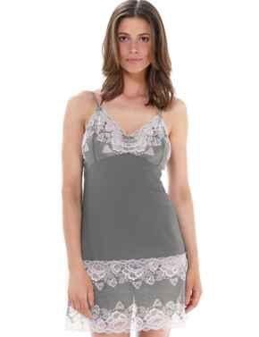 9208 Fantasie Marianna Chemise  - 9208 Silver