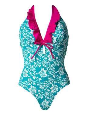 7107 Pour Moi Aloha Control Swimsuit - 7107 Spearmint
