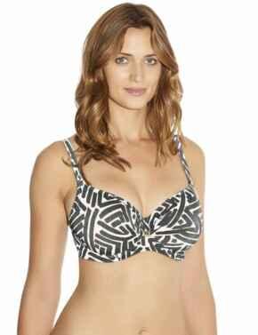 6074 Fantasie San Marino Wrap Front Bikini Top - 6074 Bikini Top