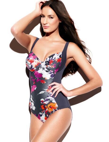 SW0740 Panache Tallulah Swimsuit Charcoal - SW0740 Swimsuit