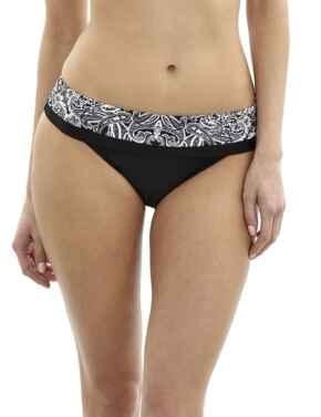 SW0947 Panache Santorini Fold Bikini Brief - SW0947 Monochrome